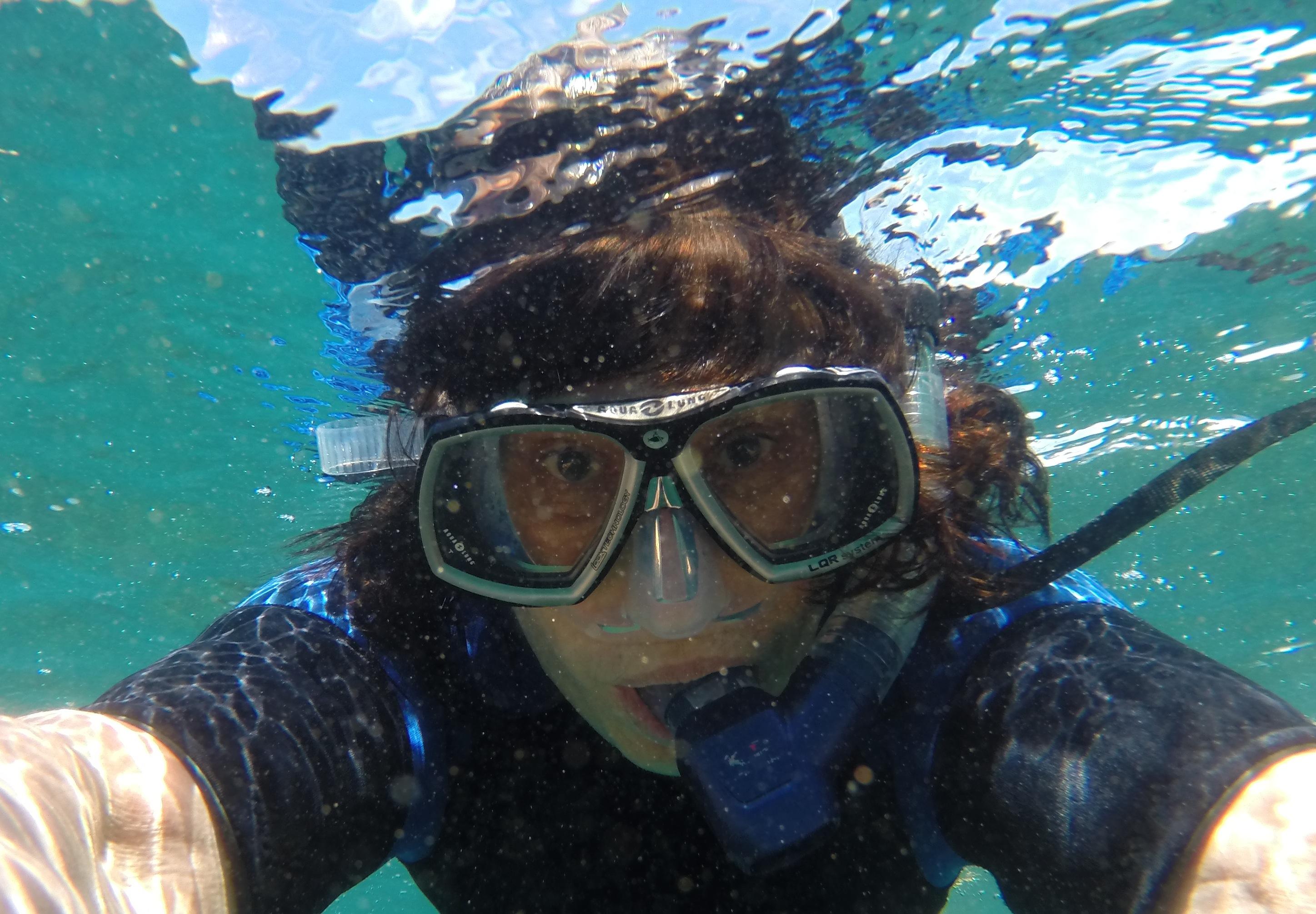 Ronda underwater